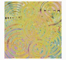 Pastel Waters One Piece - Short Sleeve