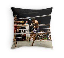 The Kick Throw Pillow