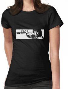 Stay Sweet Womens Fitted T-Shirt