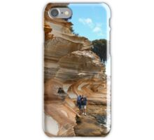 Painted Cliffs, Maria Island iPhone Case/Skin