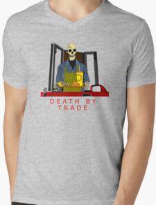 death by trade drive thru worker Mens V-Neck T-Shirt