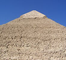 Ancient Monument Khafre Pyramid in Giza, Cairo, Africa by HotHibiscus