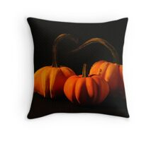 Mini Pumpkins Throw Pillow