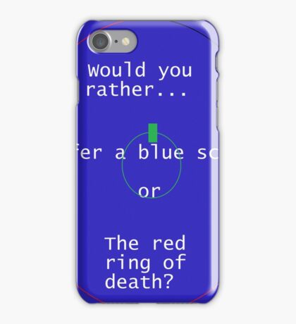 Death is eminent. iPhone Case/Skin