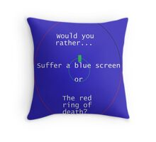 Death is eminent. Throw Pillow