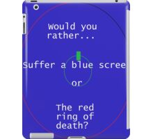Death is eminent. iPad Case/Skin