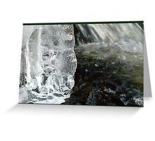 Ice Age - Sfinx in Waterworld Greeting Card