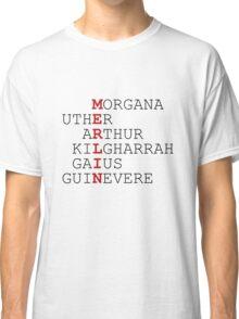 MERLIN Wordplay Classic T-Shirt
