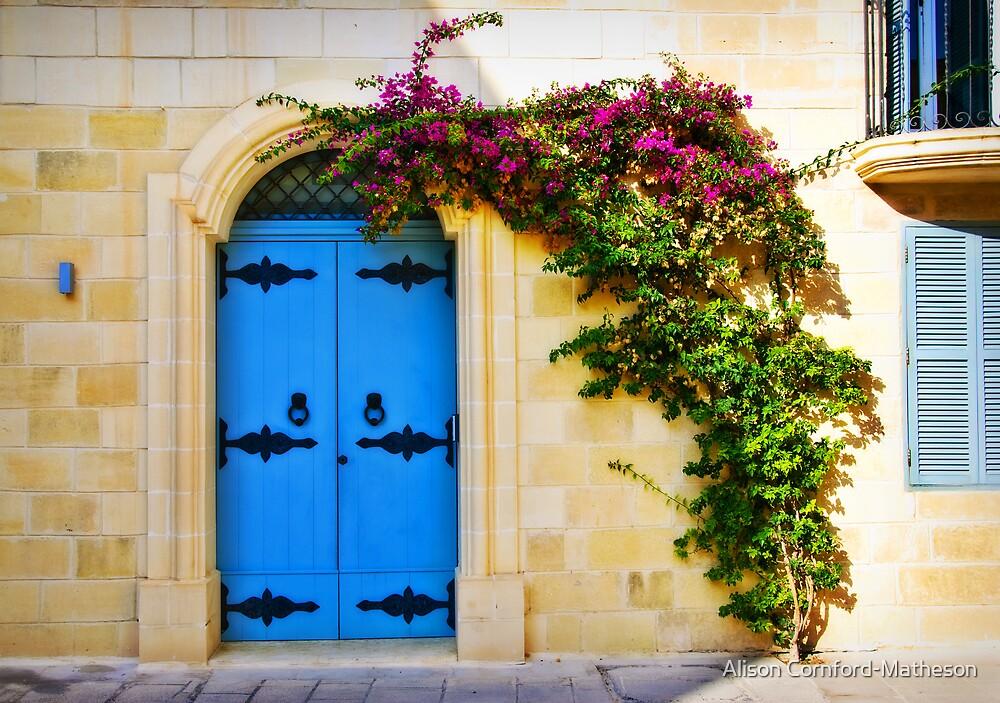 Mdina, Malta Door 1 by Alison Cornford-Matheson
