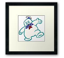 Stay Puft: Livin' EXTRA Large Framed Print