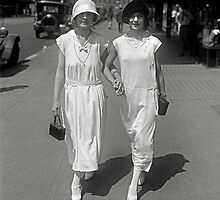 Walking Hand in Hand, 1924 by historyphoto
