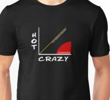 The Crazy/Hot Scale Unisex T-Shirt