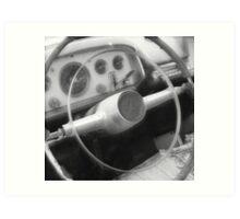 Take a Drive Down Memory Lane Art Print