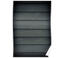 graphite toned boards texture Poster