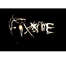 Fix Me Part 2 Photographic Print