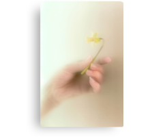 A tiny token from a heart filled with love Canvas Print