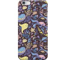 Cute doodle travel pattern iPhone Case/Skin