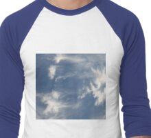 Cloud Surfing Men's Baseball ¾ T-Shirt