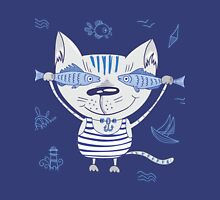 Sea cat illustration  Tank Top