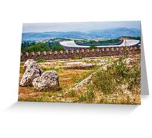 Stadium Landscape Greeting Card