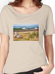 Stadium Landscape Women's Relaxed Fit T-Shirt