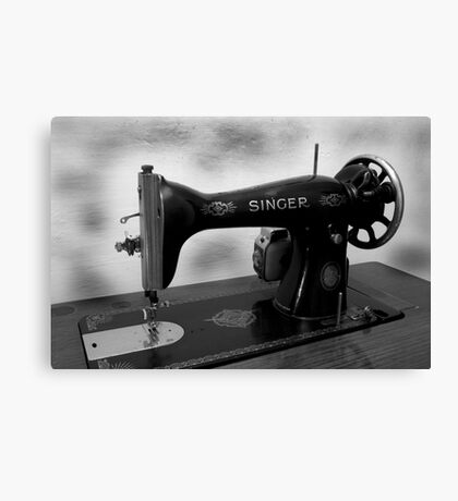 Sewing Canvas Print