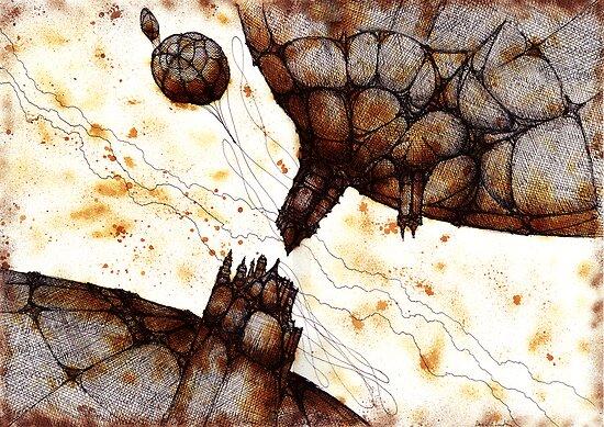Crash planets by Daniele Lunghini