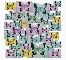 Carefree Butterflies Kids Tee