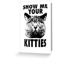 Kitties Greeting Card