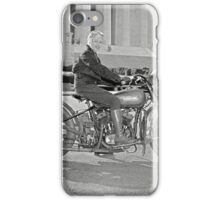 Girl With Her Motorcycle, 1937 iPhone Case/Skin