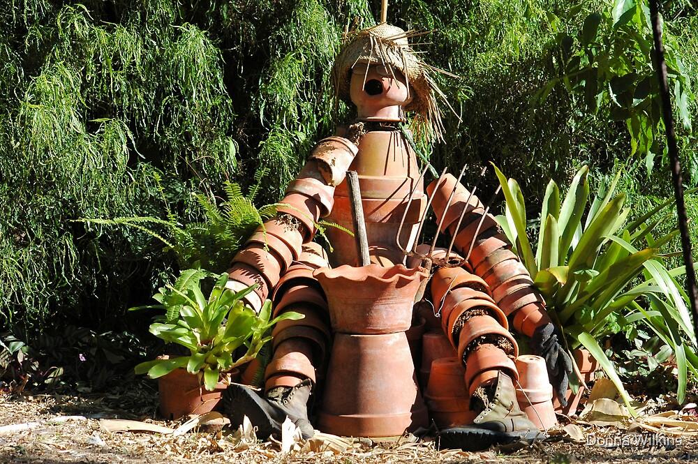 Pottery Dude by Donna Adamski
