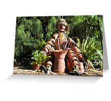 Pottery Dude Greeting Card