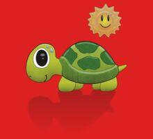 Sun Turtle Tee by BluAlien