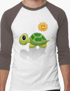 Sun Turtle Tee Men's Baseball ¾ T-Shirt