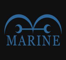 One Piece Marine logo by 11grim
