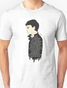 Sam Riley - Control (french text) T-Shirt