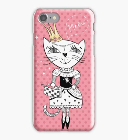 Royal cat iPhone Case/Skin