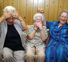 Three Wise Mumkeys by connartist