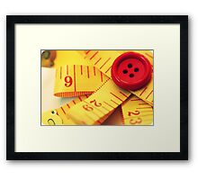 The Tape Framed Print