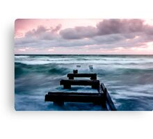 Sunset at the Mentone Pier Canvas Print