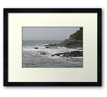 Porthleven in the summer Framed Print