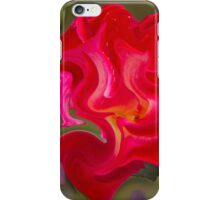 abstract roses in the garden iPhone Case/Skin