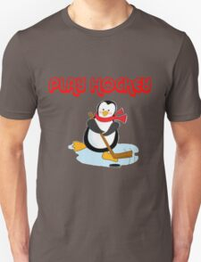 play hockey penguin Unisex T-Shirt