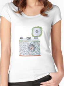 Vintage Camera 3.0 Women's Fitted Scoop T-Shirt