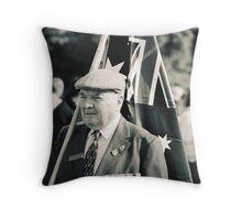 Melbourne ANZAC day parade ca.2001 - 03 Throw Pillow