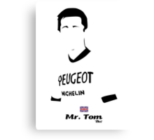 Mr. Tom - Bici* Legendz Collection Canvas Print