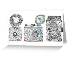 Vintage Camera 3.3 Greeting Card