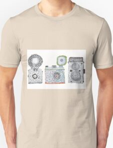 Vintage Camera 3.3 Unisex T-Shirt