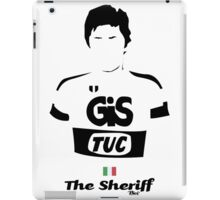 The Sheriff - Bici* Legendz Collection iPad Case/Skin