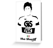 The Sheriff - Bici* Legendz Collection Greeting Card
